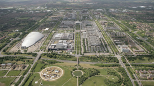 Central MK from air