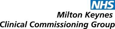 NHS MK CCG Logo